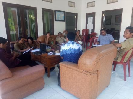 Rapat Intern Kordinasi Dan Evaluasi Kinerja Perangkat Desa